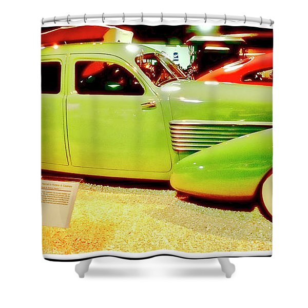 1930 Cord Automobile Shower Curtain