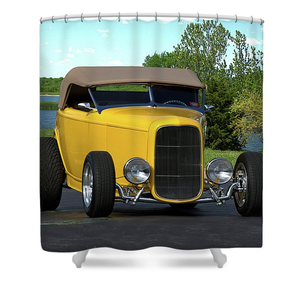 1932 Ford Roadster Shower Curtain
