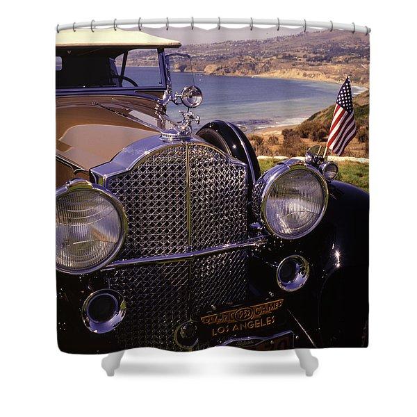 1932 Packard Phaeton Shower Curtain