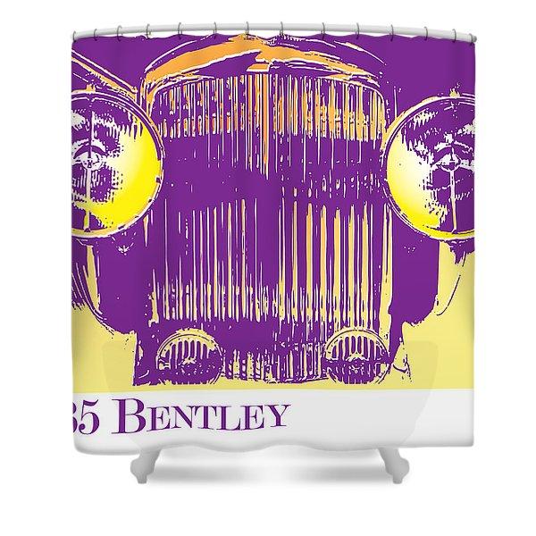 1935 Bentley Shower Curtain