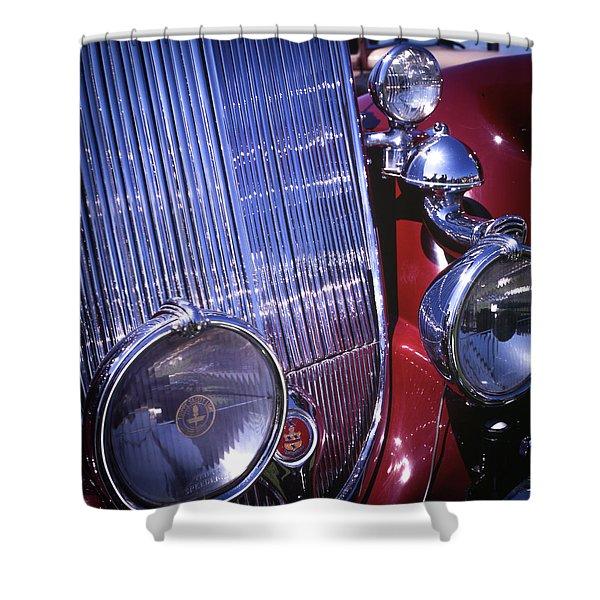 1936 Auburn  Shower Curtain