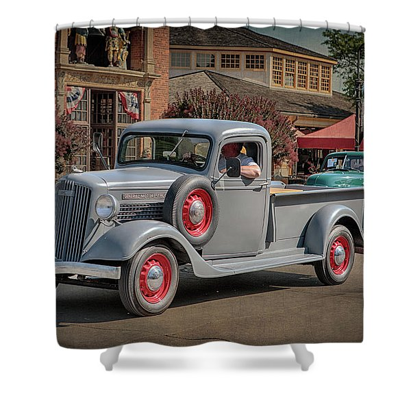 1936 Gmc T-14 Pickup  Shower Curtain