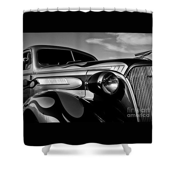 1937 Chevy Coupe Shower Curtain