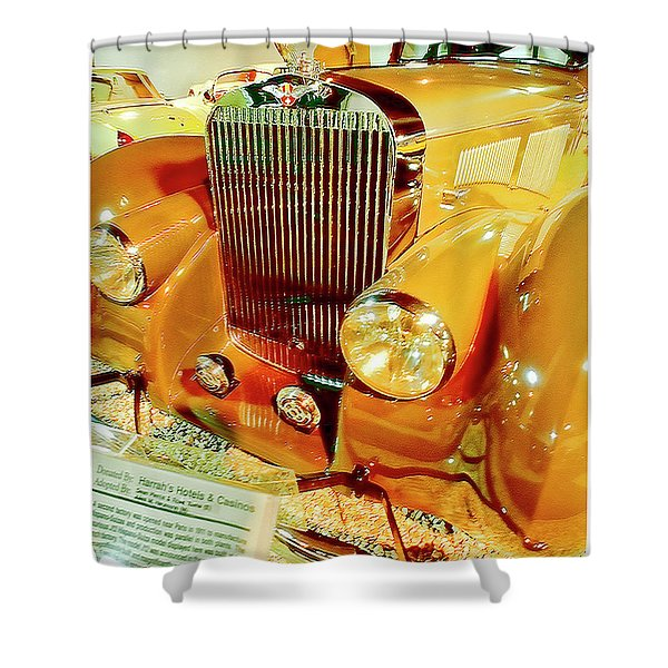 1937 Hispano Suiza Automobile Shower Curtain