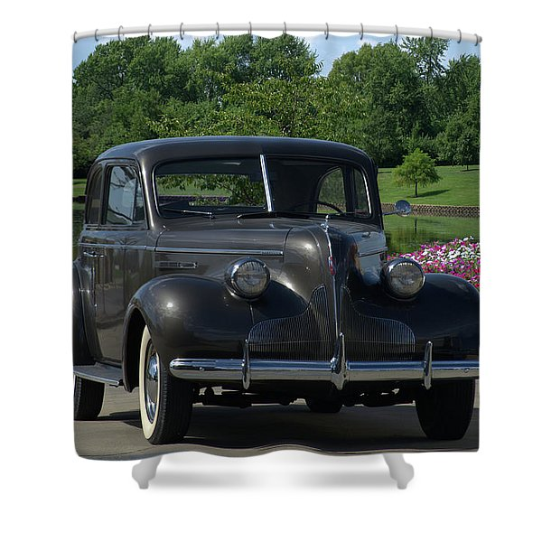 1939 Buick  Shower Curtain