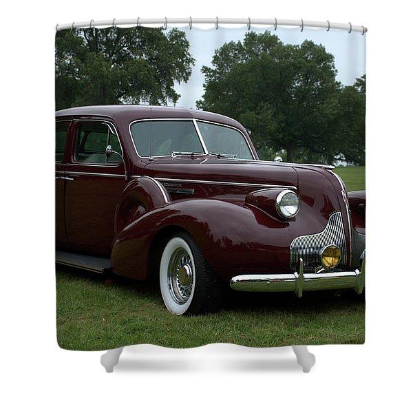 1939 Buick Roadmaster Formal Sedan Shower Curtain