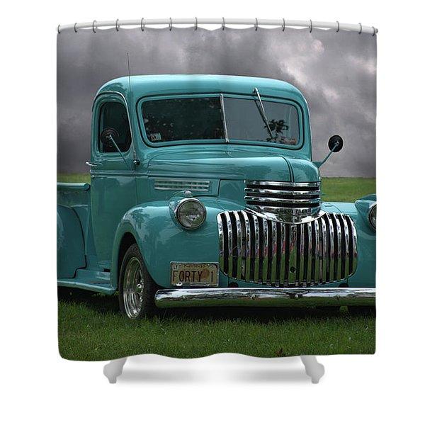 1941 Chevrolet Pickup Truck Shower Curtain