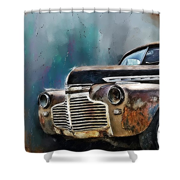 1941 Chevy Shower Curtain