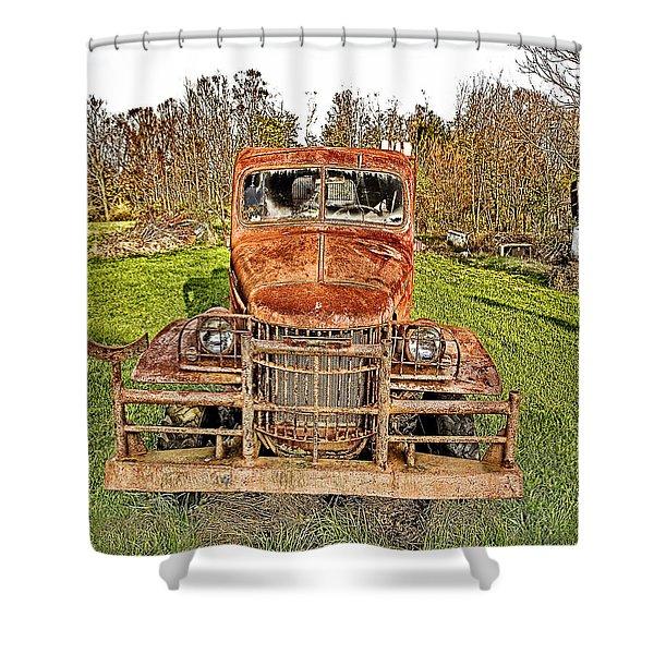 1941 Dodge Truck 3 Shower Curtain