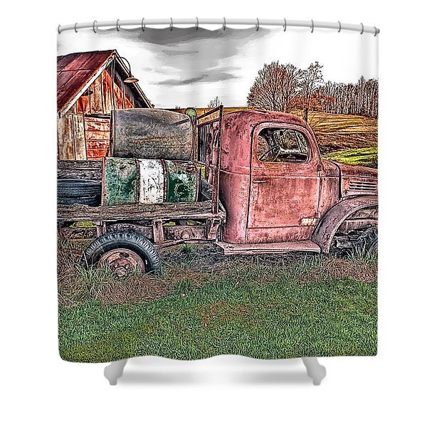 1941 Dodge Truck Shower Curtain