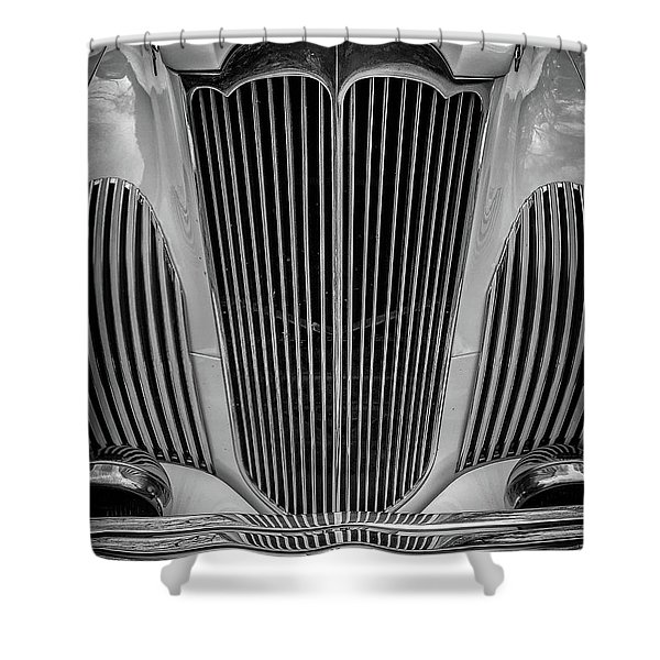 1941 Packard Convertible Shower Curtain