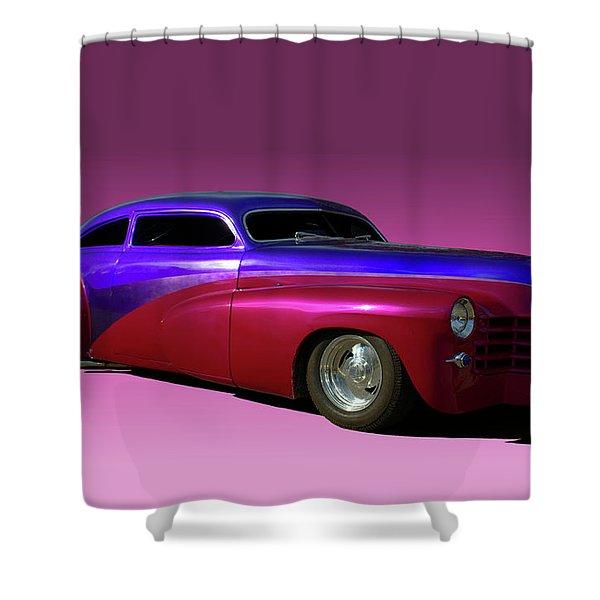 1947 Cadillac Radical Custom Shower Curtain
