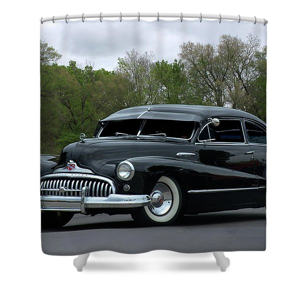 1948 Buick Shower Curtain