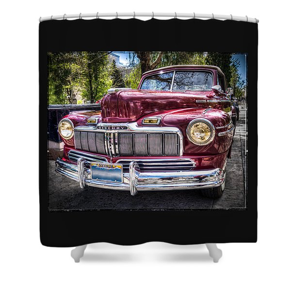 1948 Mercury Convertible Shower Curtain