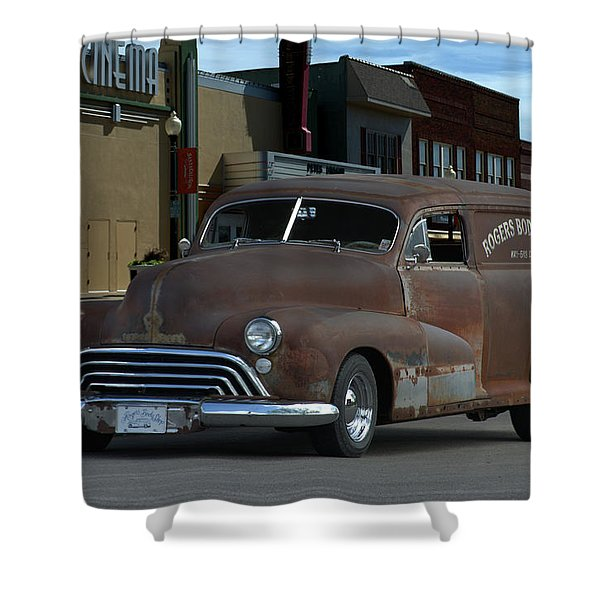 1948 Oldsmobile Sedan Delivery Shower Curtain