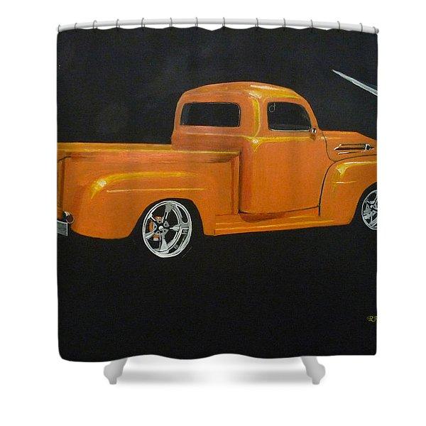 1952 Ford Pickup Custom Shower Curtain