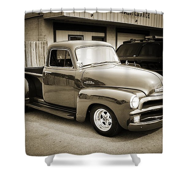 1954 Chevrolet Pickup Classic Car Photograph 6736.01 Shower Curtain