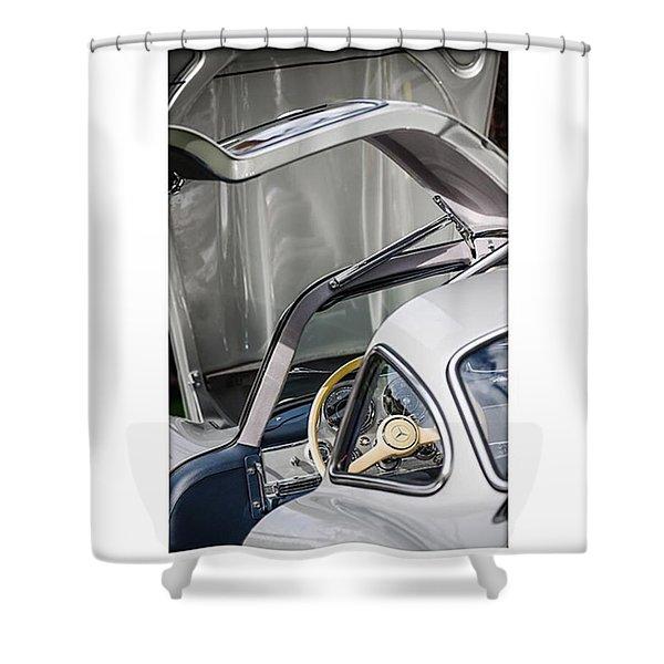1954 Mercedes-benz 300sl Gullwing Shower Curtain