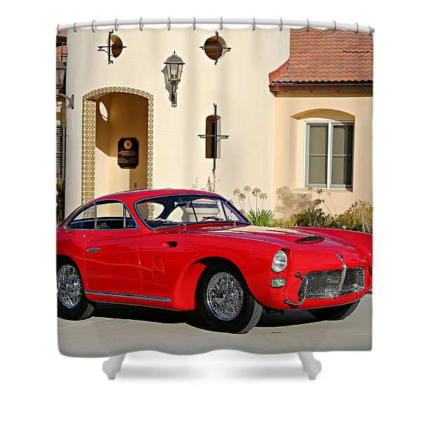 1955 Pegaso Tipo Z-102b Saoutchik Coupe  Shower Curtain