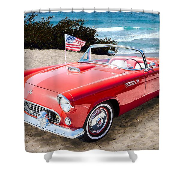 1955 Thunderbird Photograph Fine Art Prints 1246.02 Shower Curtain