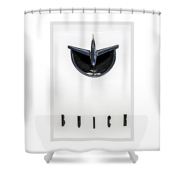 1956 Buick Special Hood Ortiment Shower Curtain