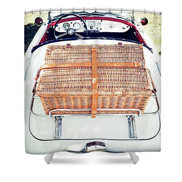 1956 Mga Roadster Shower Curtain