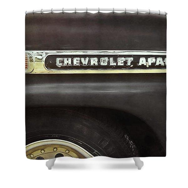 1959 Chevy Apache Shower Curtain