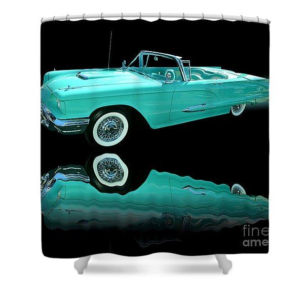 1959 Ford Thunderbird Shower Curtain