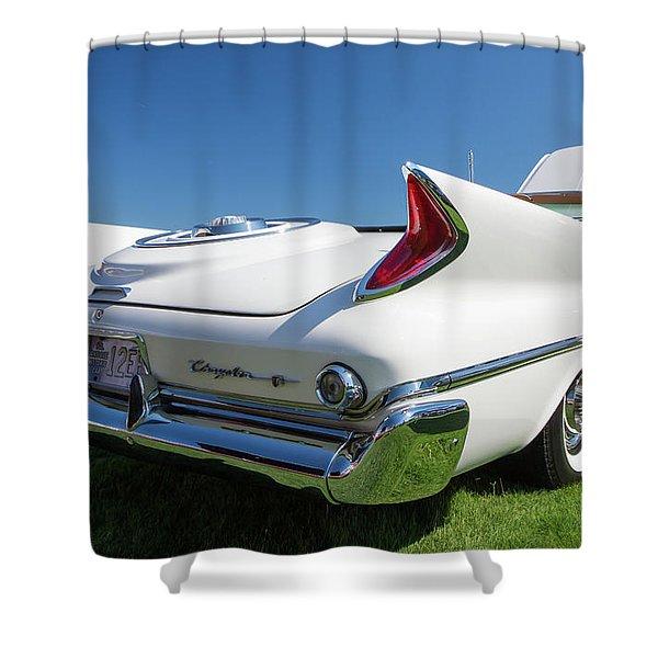 1960 Chrysler 300 Automobile Shower Curtain