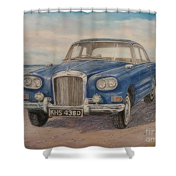 1963 Bentley Continental S3 Coupe Shower Curtain
