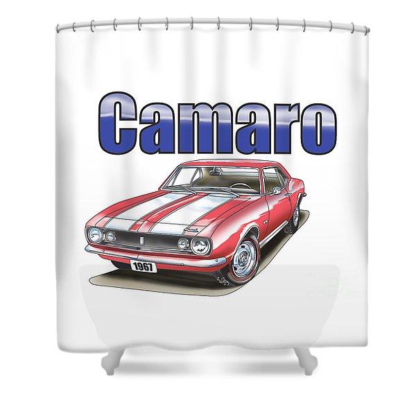 1967 Camaro Shower Curtain