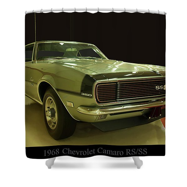 1968 Chevy Camaro Rs-ss Shower Curtain