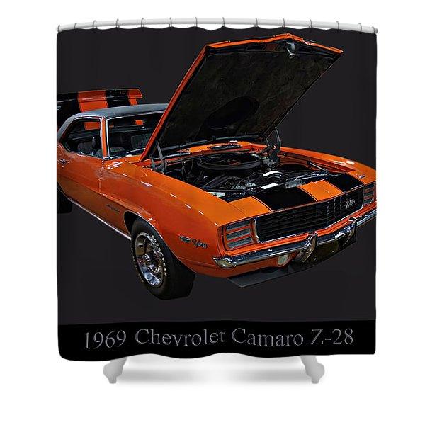 1969 Chevy Camaro Z28 Shower Curtain