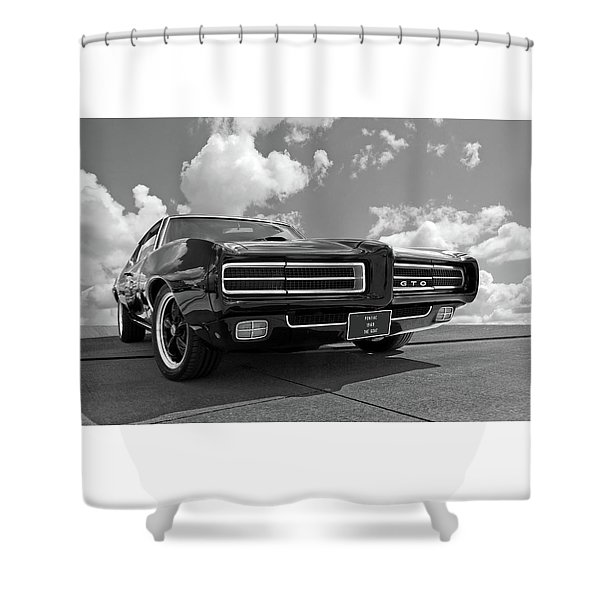 1969 Pontiac Gto The Goat Shower Curtain