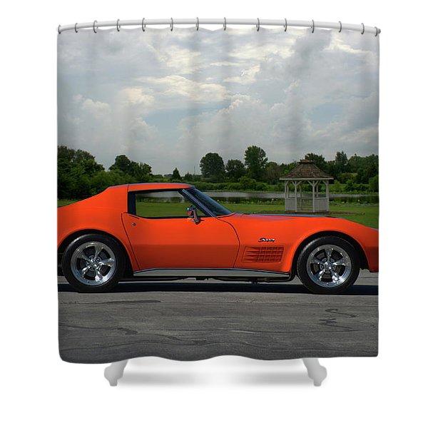 1970 Corvette Stingray Shower Curtain