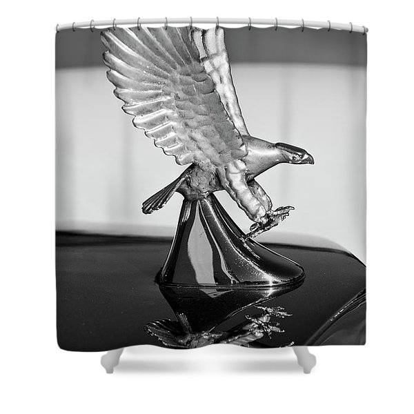 1986 Zimmer Golden Spirit Hood Ornament 3 Shower Curtain by Jill Reger