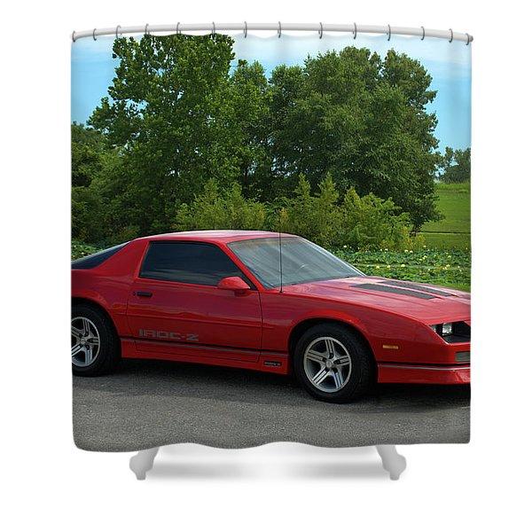 1989 Camaro Iroc Shower Curtain