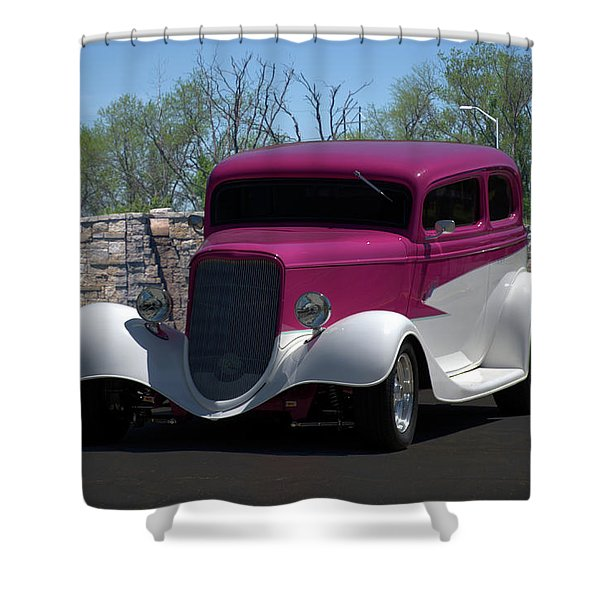 1933 Ford Vicky Shower Curtain