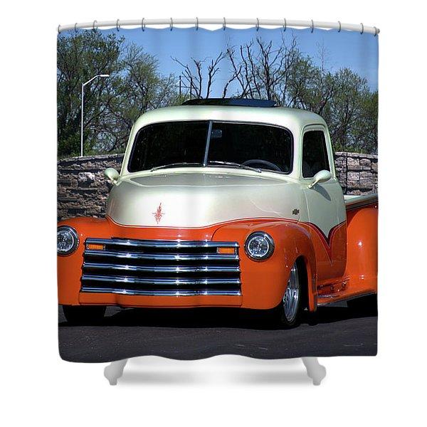 1952 Chevrolet Pickup Truck Shower Curtain