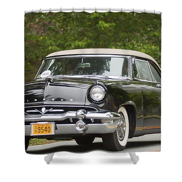 1953 Lincoln Capri Derham Coupe Shower Curtain