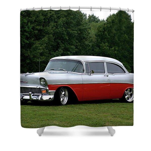 1956 Chevrolet Shower Curtain