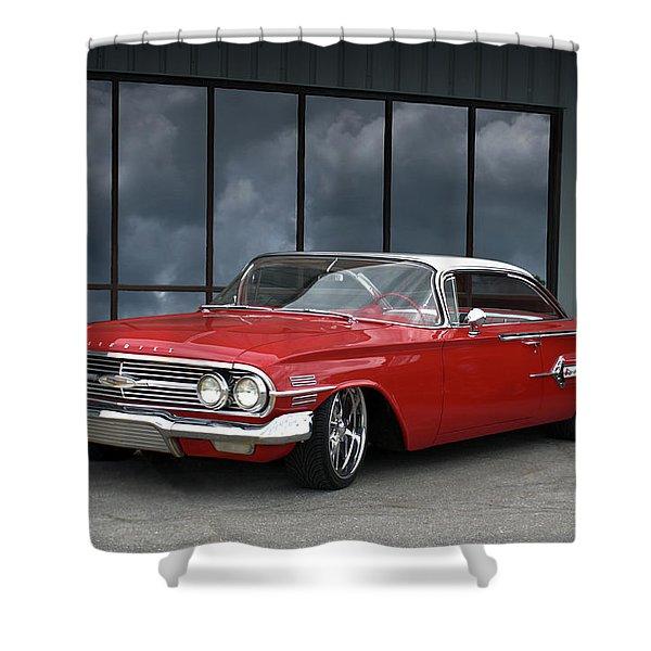1960 Chevrolet Impala Shower Curtain