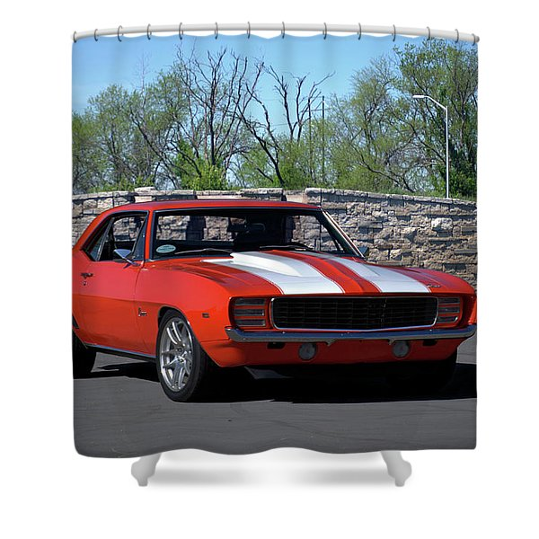 1969 Camaro Shower Curtain