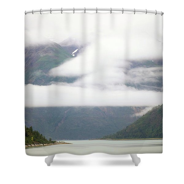 Alaska Coast Shower Curtain