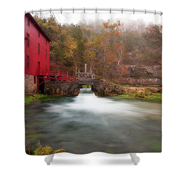 Alley Mill Shower Curtain