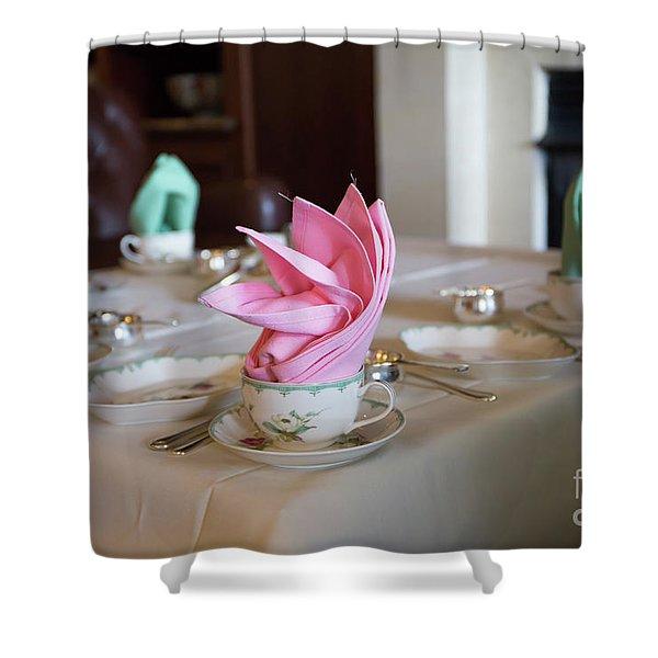 Ballantyne Tea Shower Curtain