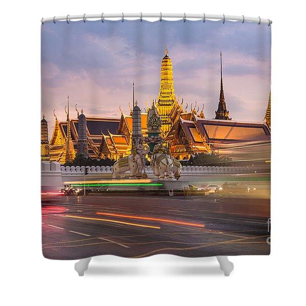 Bangkok Wat Phra Keaw Shower Curtain