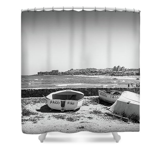 Boats. Shower Curtain