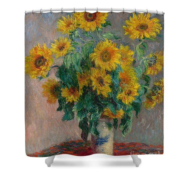 Bouquet Of Sunflowers Shower Curtain