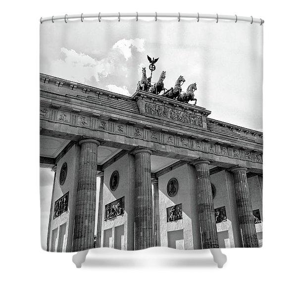 Brandenburg Gate - Berlin Shower Curtain